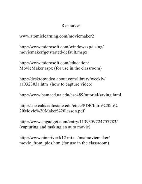 microsoft windows movie maker tutorial pdf windows movie maker tutorial