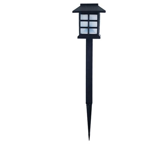 garden outdoor lantern solar landscaping lights set of 6 garden outdoor led lantern solar landscaping lights