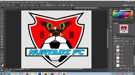 cara membuat jam dinding logo bola cara mudah membuat logo club sepak bola youtube
