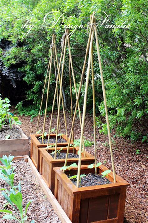 Diy Design Fanatic Finished Planter Boxes And Garden Update Diy Vegetable Garden Boxes