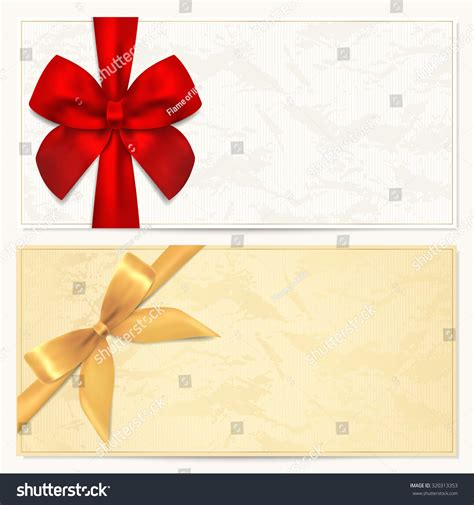 voucher gift certificate coupon gift money stock