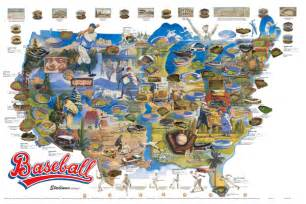 Baseball Usa Map by Baseball Maps And Gis Gis Lounge