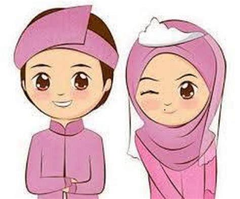 Animasi Pernikahan Islami by Gambar Undangan Pernikahan Wandi Erna Gambar Kartun