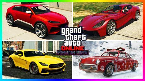 gta  arena war dlc update  unreleased cars