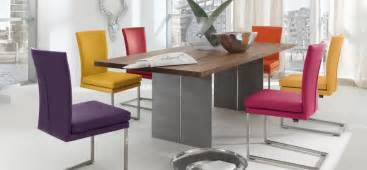 Coloured Dining Room Chairs 30 Modern Dining Rooms