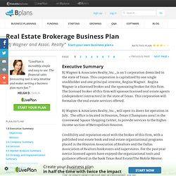 sle business plan real estate brokerage polytech collinj pearltrees