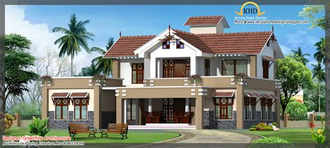 3d home architech design modern house