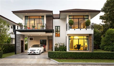 photo 8 of 8 lovely 3 bedroom houses for rent on wincenzo บ านสวยสไตล โมเด ร นทรอป คอล