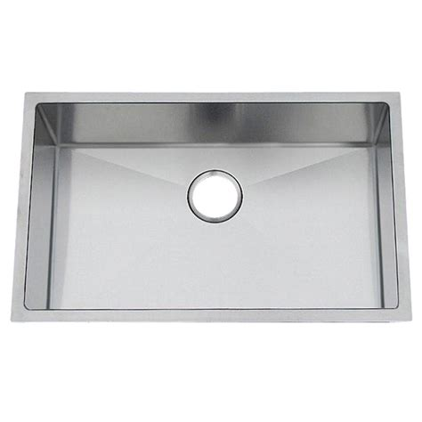 Professional Kitchen Sink Frigidaire Professional Undermount Stainless Steel 28 5 8x18 11 16x10 In 0 Single Basin