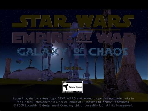corruption of chions android galaxy of chaos mod for wars empire at war forces