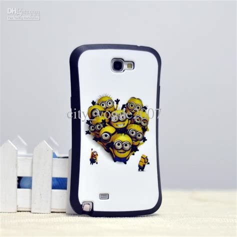 Minion Despicable Me Tpu Samsung Galaxy Note 3 Biru Gelap 1 iface soap despicable me minion tpu phone cases 9 designs for samsung note 2 n7100