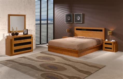 chambre a coucher moderne en bois le sommier du lit pour chambre 224 coucher archzine fr