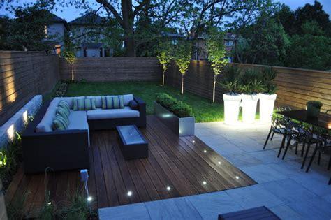 modern toronto backyard