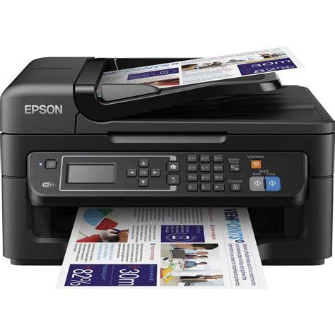 Printer Epson Scan epson workforce wf 2630wf inkjet multifunction printer a4