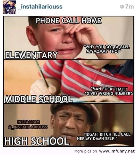 Middle School Memes - funny quotes about middle school memes