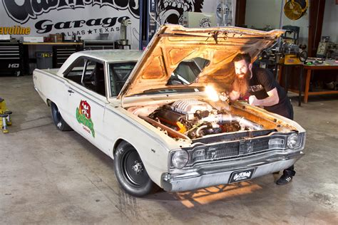 gas monkey cars revealed how gas monkey s 67 dart beat roadkill