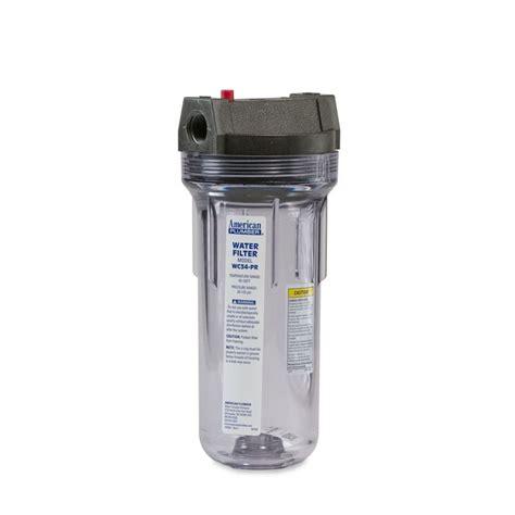 Housing Filter 20 Nanotec Inlet Outlet 34 american plumber american plumber wc34 pr standard
