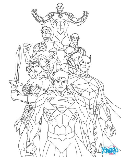 Similiar Justice League Unlimited Drawing Keywords