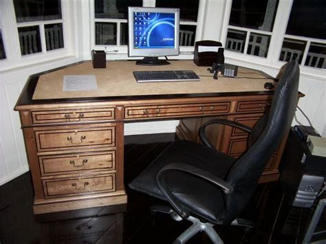 bay window desk maple desk designed to fit a bay window portfolio