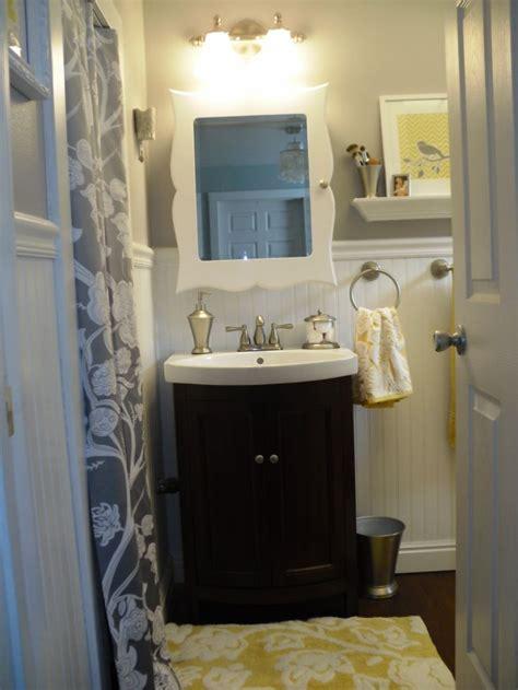 Grey Yellow Bathroom » Home Design 2017