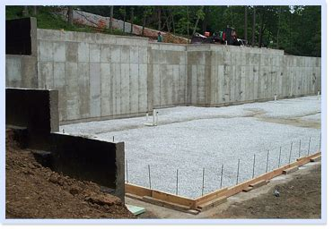 how to pour a basement foundation foundation specialties inc footings and walls