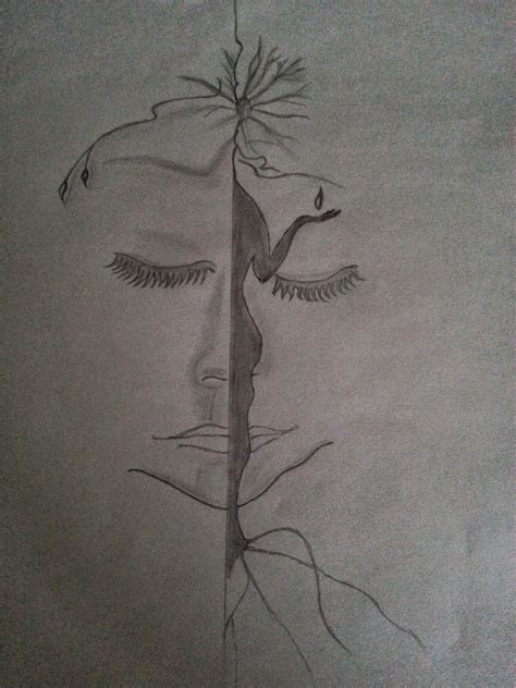 Drawing W Pencil by Pencil Sketches Of Nature Www Imgkid The Image Kid