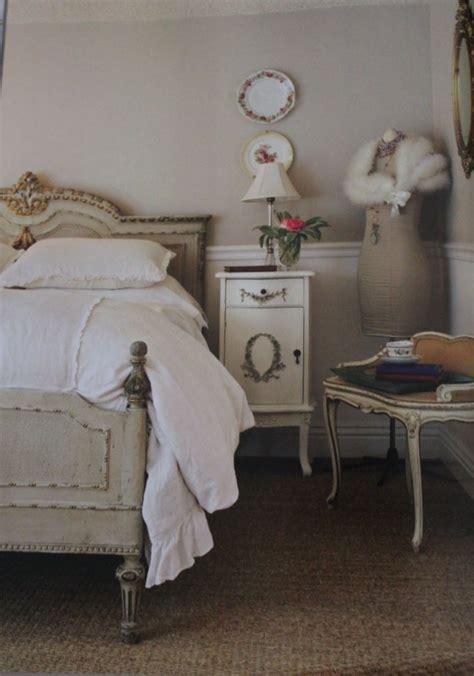 schlafzimmer französisch wandgestaltung mocca