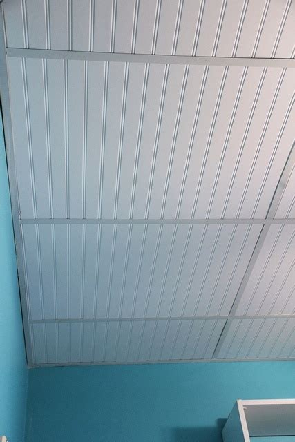 Ceiling Tile Sheets Replace Acoustical Ceiling Tiles With Sheets Of