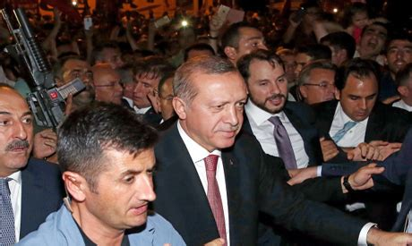 recep tayyip erdogan biography book turkish police raid science council many detained in
