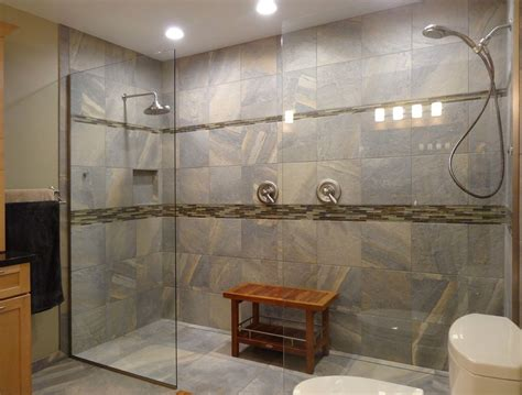 bathroom her bench how to install dual shower heads the homy design