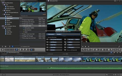 final cut pro yosemite update apple updates final cut pro x with numerous new features