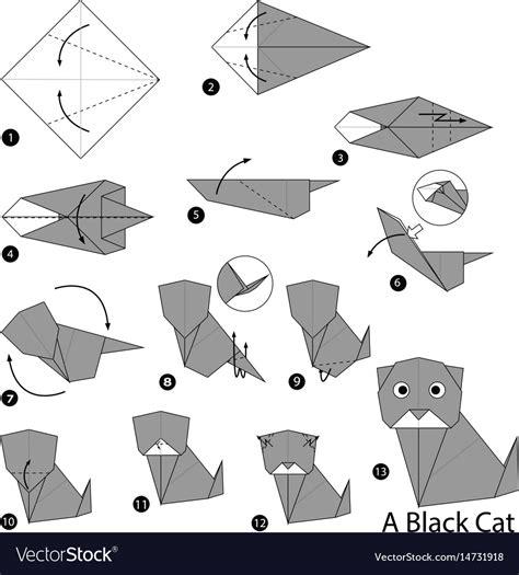 Origami Wolf Step By Step - 86 origami wolf step by step diagram origami wolf