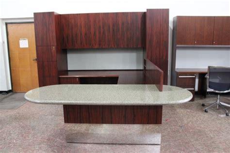 pre owned office desks pre owned used office desks