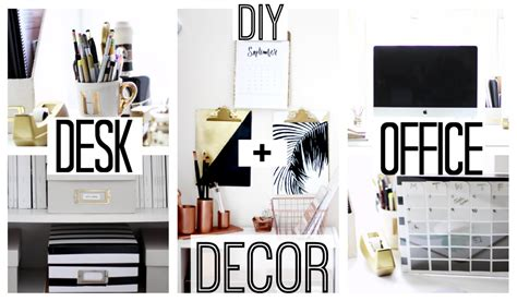 Diy Desk Decor Ideas Diy Desk Office Decor Anthropologie Kate Spade Inspired