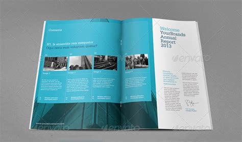 Annual Report Template Publisher