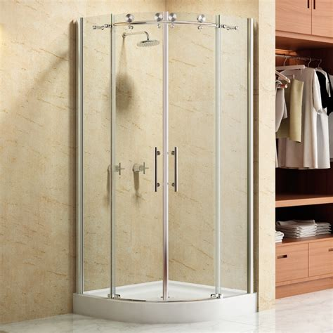36 Inch Corner Shower Stall 36 Quot Curved Corner Shower Enclosure S Bath Replacing