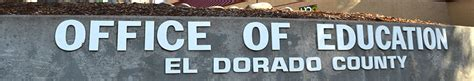 El Dorado County Office Of Education by Notice Of Accessibility Resources El Dorado County