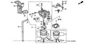 honda hs521 as snow blower jpn vin sag 1000001 to sag 1099999 parts diagram for carburetor