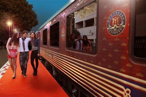 maharaja express train maharajas express unveils reved website luxury train