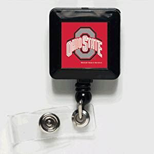Ohio State Desk Accessories Ohio State Buckeyes Retractable Badge Holder 2 Pack Office Desk Accessories