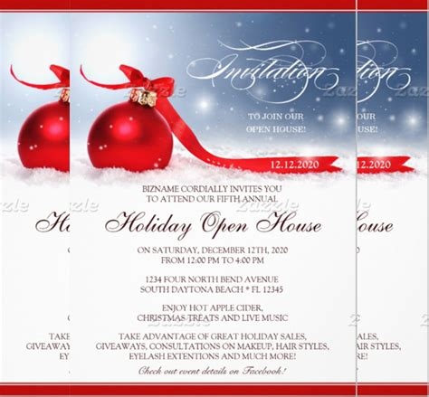 business open house invitation templates free open house invitations templates free