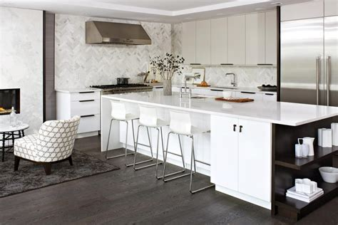 kitchen with grey floor modern kitchen white kitchen looks stylish with grey