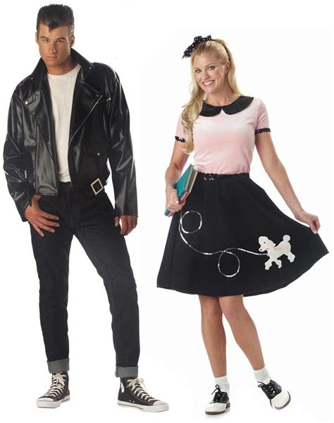 50 theme costumes hairdos 50s greaser poodle skirt 50s fashion hair make up