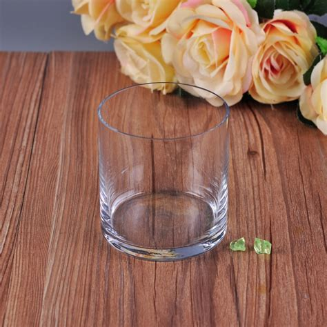 Thin Candle Holders by Thin Wall Cylinder Transparent Glass Candle Holders
