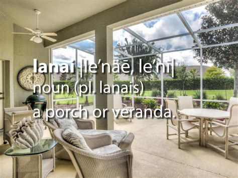 Meaning Of Patio by Image Gallery Lanai Meaning