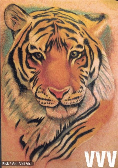 cool tiger tattoo designs cool tiger on leg fresh ideas