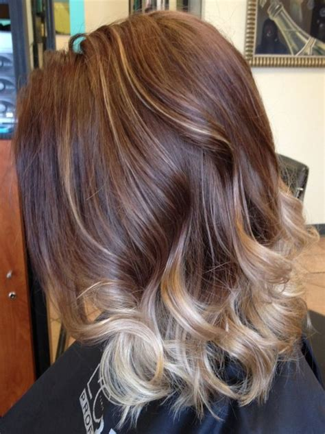 hairstyles that show off highlights 107 best images about hair styles on pinterest curly bob