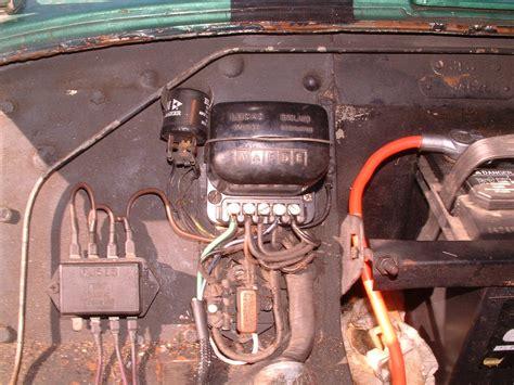 tra wiring ammeter   british wiring alternator