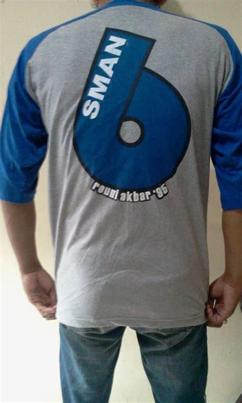Kaos Baju T Shirt Alumni Bonser desain sablon baju kelas kaos