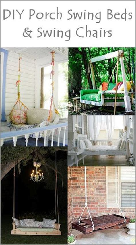 diy porch swing bed diy porch swing beds and porch swing beds on pinterest